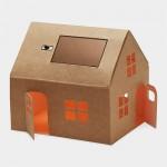 Casagami solar huisje, origineel relatiegeschenk