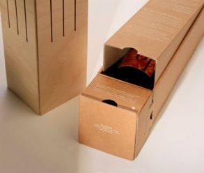 origineel relatiegeschenk, Cavallum wijnverpakking, wijndoos, Cavallum winelamp, kerst wijn