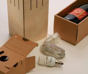 origineel relatiegeschenk, Cavallum wijnverpakking, wijndoos, Cavallum winelamp, originele relatiegeschenken