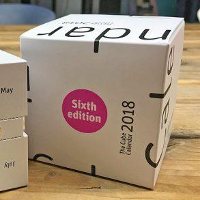 The Cube Calendar 2019, kalender 2019, scheurkalender 2019