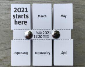 The Cube Calendar 2021