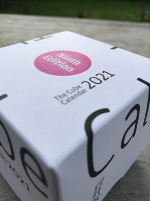 The Cube Calendar 2021 - 9th edition